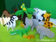 Зоопарк 3-D, выкройки есть в магазине на сайте автора