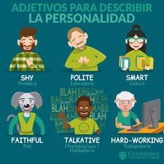 Spanish Vocabulary, Teaching Spanish, Vocabulary Words, Teaching English, Learn English Grammar, English Phrases, Learn English Words, German Language Learning, English Language