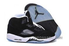 "http://www.jordanabc.com/air-jordan-5-v-retro-oreo-black-cool-greywhite-for-sale.html AIR JORDAN 5 (V) RETRO ""OREO"" BLACK/COOL GREY-WHITE FOR SALE Only $90.00 , Free Shipping!"