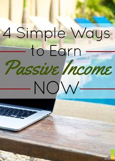 I never knew that anyone could earn passive income! It sounded like something just for wealthy people, but passive income is actually essential to build wealth. I loved idea number 3!