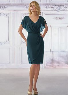 Jasmine Bridal - Jasmine Black Label Style in Jade Chiffon with Stretch Lining, color Midnight Pearl Best Prom Dresses, Mob Dresses, Event Dresses, Ball Dresses, Ball Gowns, Bridal Dresses, Tunic Dresses, Occasion Dresses, Party Dresses