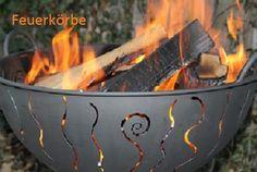 Feuerkörbe aus Stahl, jeder einzeln gefertigt, mit viel Liebe zum Detail. www.bollerkorb.com