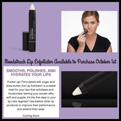 Moodstruck Lip Exfoliator! Available to Purchase on October 1st! #Younique www.callofbeauty.us