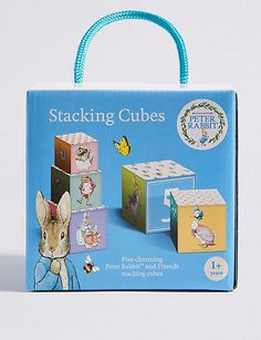 Buy the Peter Rabbit™ Stacking Cubes from Marks and Spencer's range. Toddler Outfits, Kids Outfits, Smart Casual Shirts, Peter Rabbit And Friends, The Body Shop, Toddler Toys, Motor Skills, Cool Toys, Bedding Shop