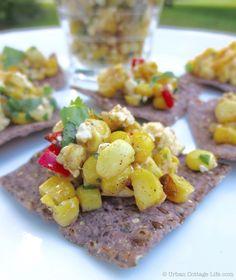 Fruit And Veg, Fruits And Veggies, Urban Cottage, Corn Salsa, Corn Chips, Plant Based Eating, Potato Salad, Make It Simple, Grilling