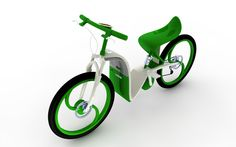 Bike Design by Pedro Machado, via Behance