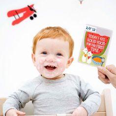 Milestone Baby Cards Englisch Version www.adaywithkate.com