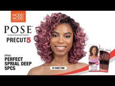MODEL MODEL POSE Precut 5PCS Human Hair Master Mix Poses, Hair, Figure Poses, Whoville Hair