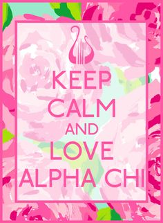 Alpha Chi Bid Day Quote #AlphaChi #BidDay