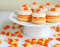 These Candy Corn Macarons are a must-make.
