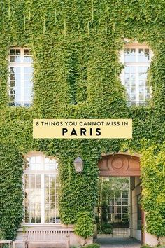 Heading to Paris, France and wondering what to do? I have narrowed down my list to 8 things you absolutely cannot miss! The best non-cliche, off-the-beaten-path things to see, do, eat, and drink.
