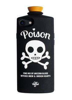 Poison 3D iPhone Case (BLACK) by Valfre | Valfré $24