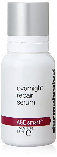 Dermalogica Overnight Repair Serum, Fluid Ounce Minimizes fine lines Stimulates collagen production Helps stimulate cellular repair overnight Facial Serum, Facial Skin Care, Dermalogica Age Smart, Rose Oil, Oils For Skin, Natural Cosmetics, Best Makeup Products, Beauty Products, Health And Beauty