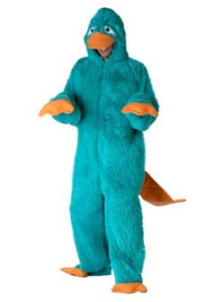 adult parker the platypus costume phineas - Phineas Halloween Costume