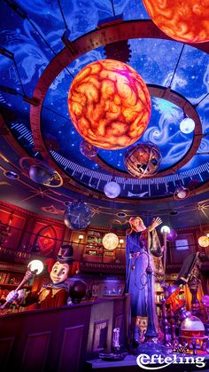 Gebruik deze wallpaper van het Observatorium van Symbolica met Pardoes en zie de Efteling op je achtergrond van je telefoon!