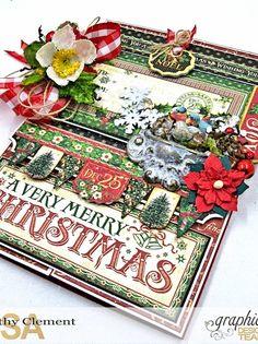 How to A Very Merry Christmas St. Nicholas Gatefold Card