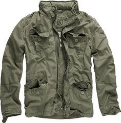 Brandit Herren Britannia Jacke Men Jacket Feldjacke M65 Style aus Baumwolle M-65