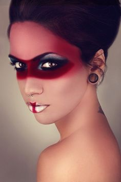 For the Red Knight Makeup