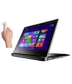 Lenovo Flex 2-14D Notebook (59-436783) (APU Quad Core A8- 4GB RAM- 500GB HDD- 35.56cm (14) Touch- Windows 8.1) (Black)