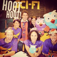 Hootabelle, Hoot and Jimmy Giggle visited all our Owl Pals at Randwick Children's Hospital yesterday. #starlightroom