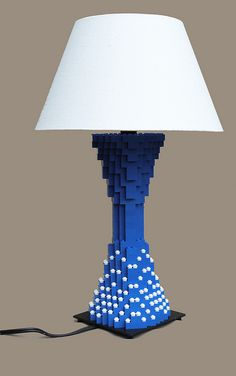 LEGO Lamp by Joshua Christenson. Love this. How hard could it be...famous last words.