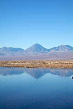 Salar de Atacama .Desierto de Chile
