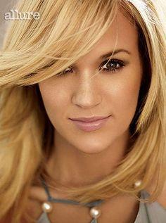 Carrie Underwood in Allure magazine.