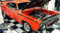 2014 World of Wheels Boston Old Muscle Cars, Dodge Muscle Cars, American Muscle Cars, Plymouth Duster, Cool Old Cars, Drag Cars, Custom Trucks, Hot Cars, Mopar