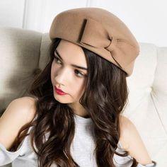 2532cf23078 26 Desirable Top 10 wool beret hat for women winter wear images ...