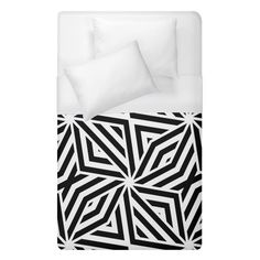 Black and white abstract lines, geometric pattern Duvet Cover (Single Size) #duvets #bedroom #bedding #home #decor #art Dream even sweeter dreams when you lay your head down to sleep at night under your personalized duvet quilt! With a range of sizes to choose from you can design matching sheets for your whole family. Why not match it with pillow cases and a fitted sheet as well to have a complete set? Funny Sleep, Sleep Room, Room Stuff, Black And White Abstract, Abstract Lines, Can Design, Duvet Covers, Pillow Cases, Bedding