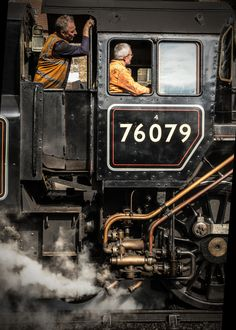 Steam Train - Mainline Closeup - By Stephen Veitch Train Car, Train Tracks, Old Steam Train, Bonde, Train Pictures, British Rail, Old Trains, Train Engines, Steam Engine