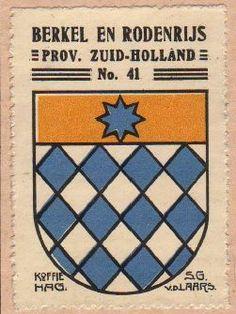 Berkel en Rodenrijs - Heraldry of the World, Wapen,Heraldiek