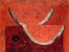 "Sandias (""Watermelons""), oil on canvas by Rufino Tamayo, 1965. 45 × 60 cm."