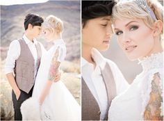 Styled shoot from  La di Da Beauty and Anicia Beckwith Photography