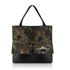 Pojemna torba moro z logo
