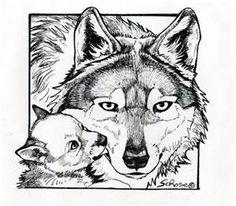 Big Bad Wolf Coloring Page | adorable bracelets | Pinterest | Big ...