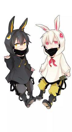 Kagerou Project (Mekakucity Actors) Konoha & Black Konoha