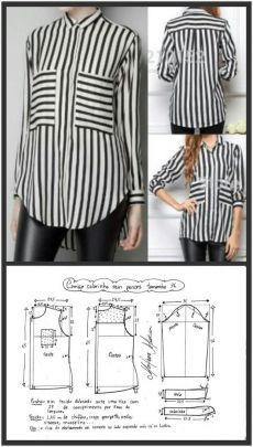 Clothing Patterns Shirt Patterns For Women Blouse Patterns Blouse Designs Free Sewing Sewing Patterns Free Sewing Tutorials Sewing Blouses Top Pattern Dress Sewing Patterns, Blouse Patterns, Sewing Patterns Free, Clothing Patterns, Blouse Designs, Skirt Patterns, Coat Patterns, Make Your Own Clothes, Diy Clothes