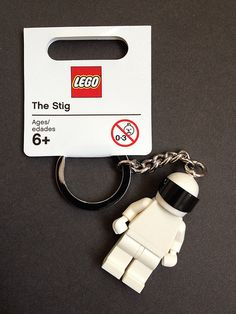"LEGO Top Gear - The Stig. I read the stig thing and went, ""oh thank god, I thought it was an archaeologist eaten by the vashta nerada"""