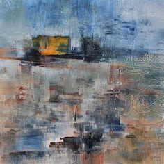 umj.art - Ulla Maria Johanson: 2017-10-04 #1059CycleAcrylic on board, 20x20 cm