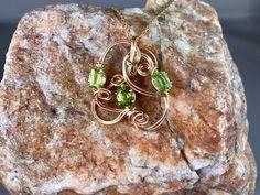 1 carat peridot stones beautifully placed in 14 k gold fill wire. Peridot Stone, 1 Carat, Sculpting, Fill, Gemstones, Metal, Handmade, Beauty, Jewelry