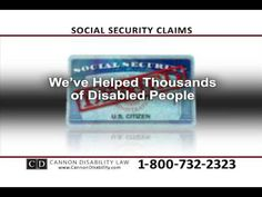 Cannon Disability Law is the oldest practicing Social Security Disability law firm in the state of Utah. Supplemental Security Income, Disabled People, Social Security, Disability, Cannon, We The People, Law, Personal Care, Self Care