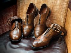 You shouldn't wear the same pair of shoes every day -- here's why - Allen Edmonds men's dress shoes Allen Edmonds Boots, Sock Shoes, Shoe Boots, Best Dress Shoes, Men S Shoes, Brown Boots, Me Too Shoes, Casual Shoes, Oxford Shoes