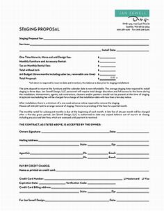 Image Result For Home Staging Contract Template  Fireplace