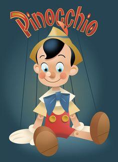 pedro astudillo disney | Pinocchio by Pedro Astudillo