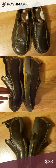 Born Loafers Brown loafers size 6. Gently worn Born Shoes Flats & Loafers