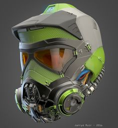 A helmet I made in my spare time using Zbrush. This will be part of something bigger at a later stage (a full body powered wing-suit character... thing...). I wanted to combine a FMX with a diving helmet. The process is very easy and fun so I might make this a short beginner tutorial if there is interest.  (WIP's will be added in a few hours)