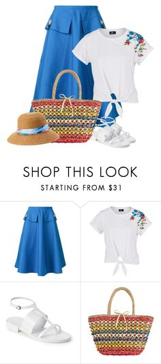 """""""Vacation"""" by ganing ❤ liked on Polyvore featuring N°21, Jil Sander, La Sera, Love This Life, skirt, vacation and polyvoreatitsbest"""