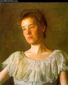 Thomas Eakins Portrait of Alice Kurtz