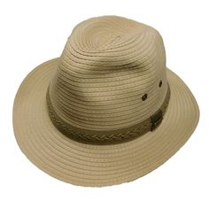 Stetson Traveler Great hat. UPF50+. Packable! Wide Brim Fedora ee6c5275ea4